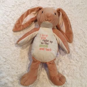 """To the moon and back bunny 20"""" long"""